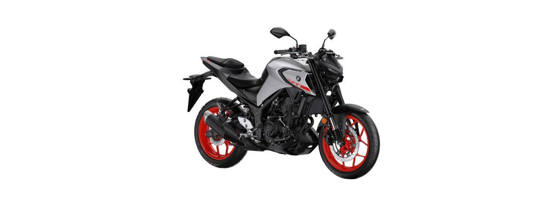 Motorstørrelse på køreskole motorcykel kategori A2